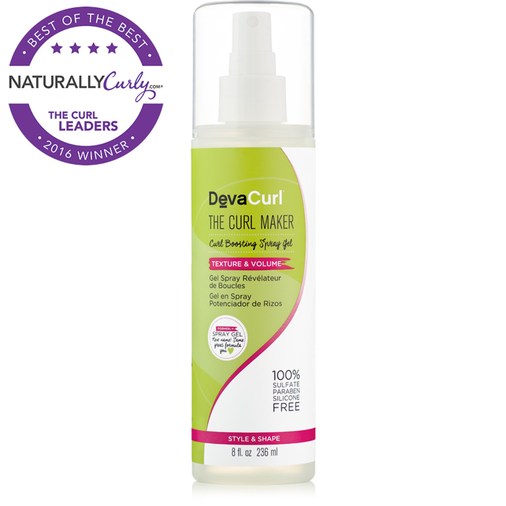 DevaCurl The Curl Maker Curl Boosting Spray Gel (8 oz.)