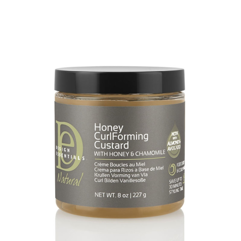 Design Essentials Natural Honey CurlForming Custard (8 Oz