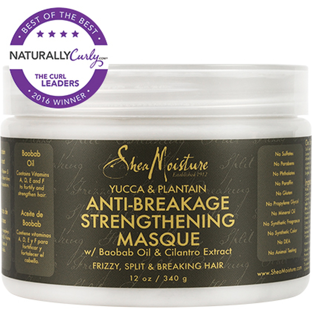 SheaMoisture Yucca & Plantain Anti-Breakage Strengthening Masque (12 oz.)