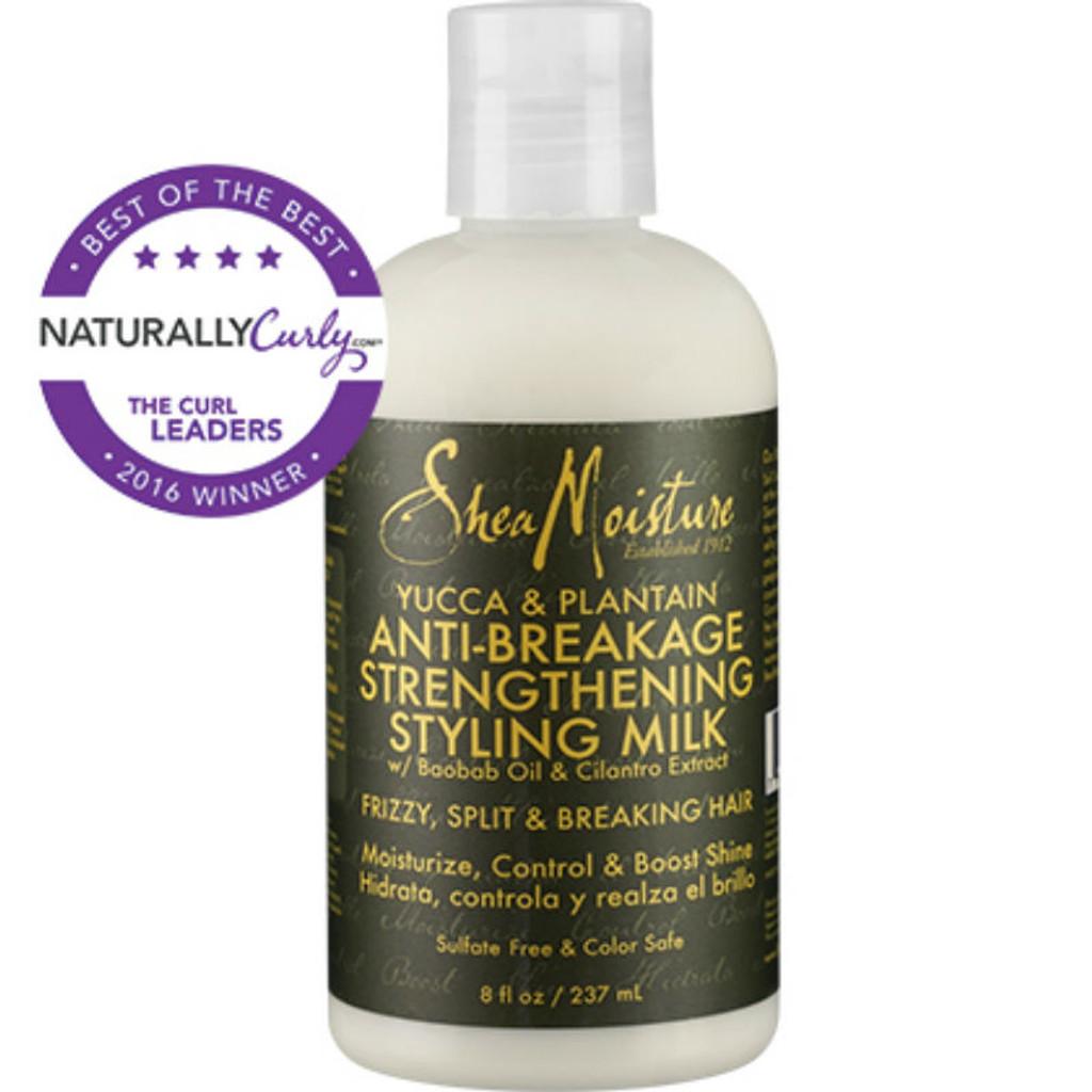 SheaMoisture Yucca & Plantain Anti-Breakage Strengthening Styling Milk (8 oz.)