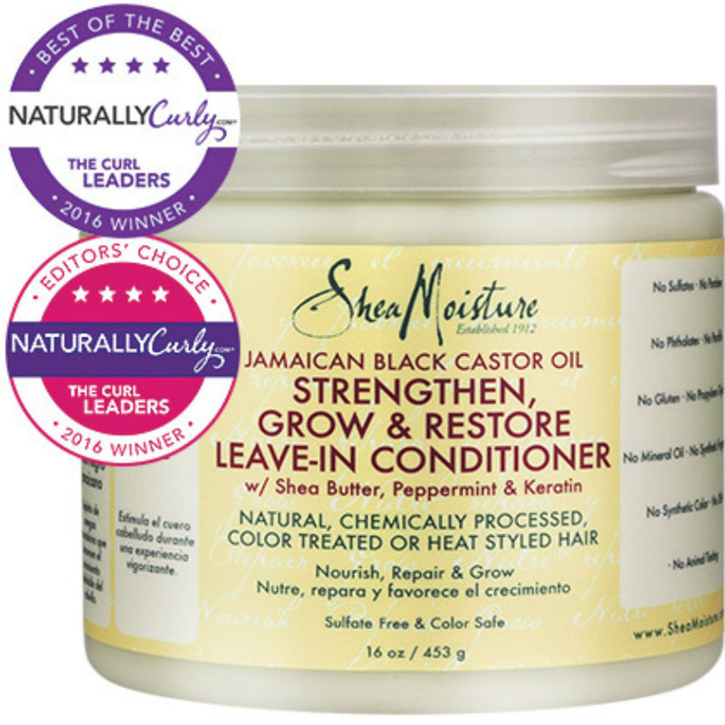 Review: SheaMoisture Jamaican Black Castor Oil Strengthen, Grow & Restore Leave-In Conditioner (16 oz.)