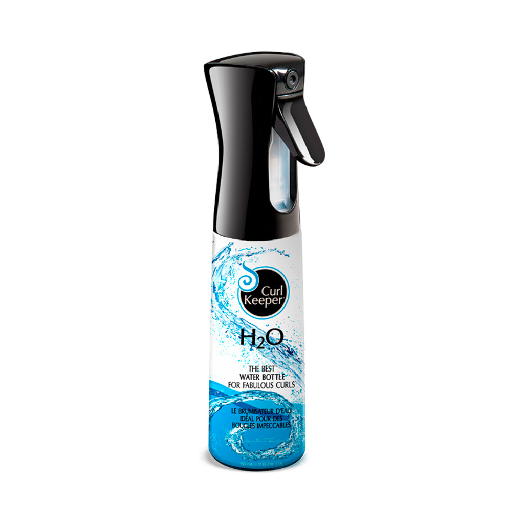 Water Bottle Hair: Curly Hair Solutions H20 Water Bottle