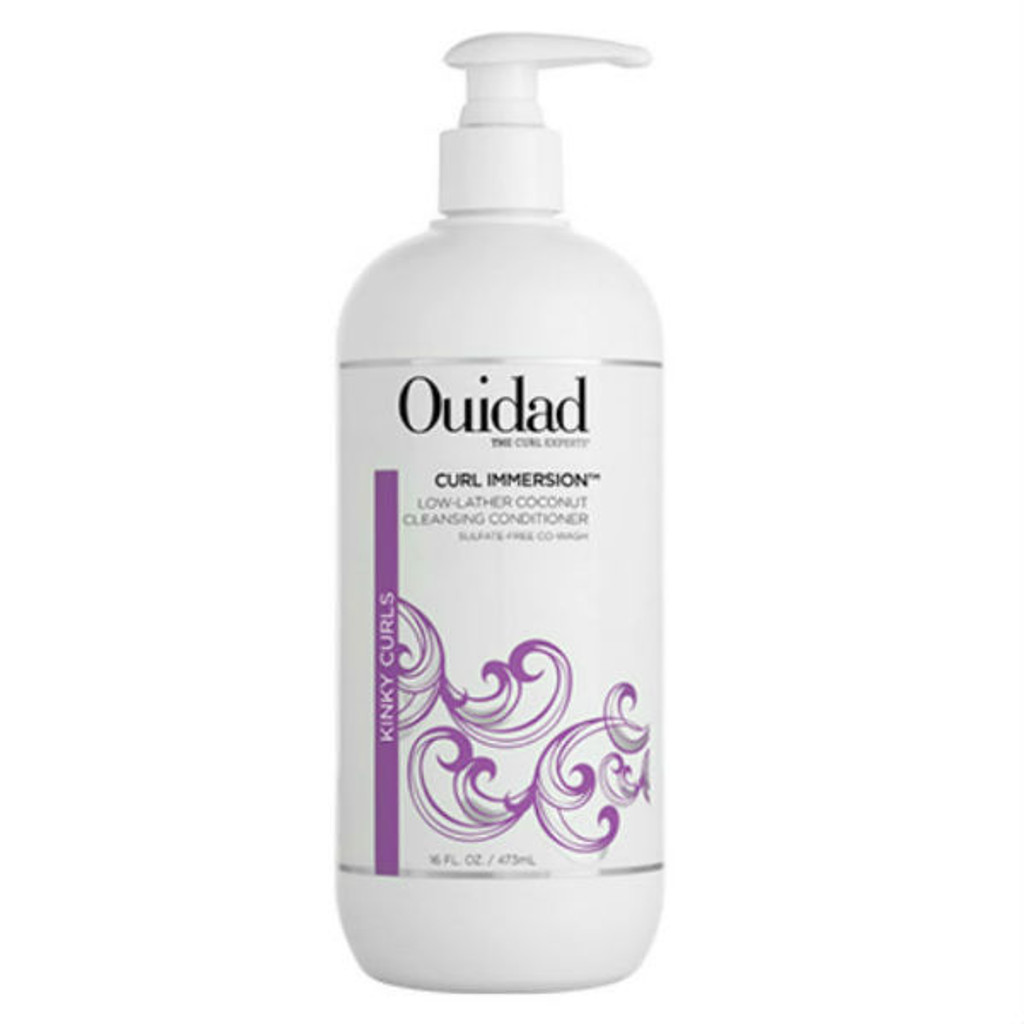 Ouidad Curl Immersion Low-Lather Coconut Cleansing Conditioner (16 oz.)