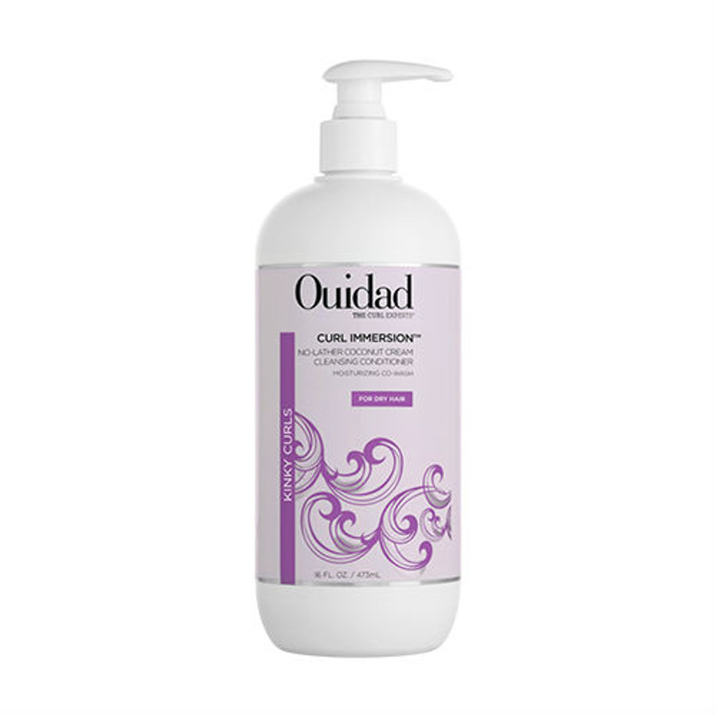 Ouidad Curl Immersion No-Lather Coconut Cream Cleansing Conditioner (16 oz.)
