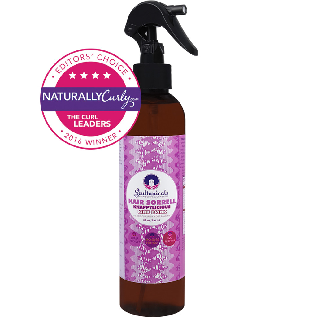 Soultanicals Hair Sorrell Knappylicious Kink Drink (8 oz.)