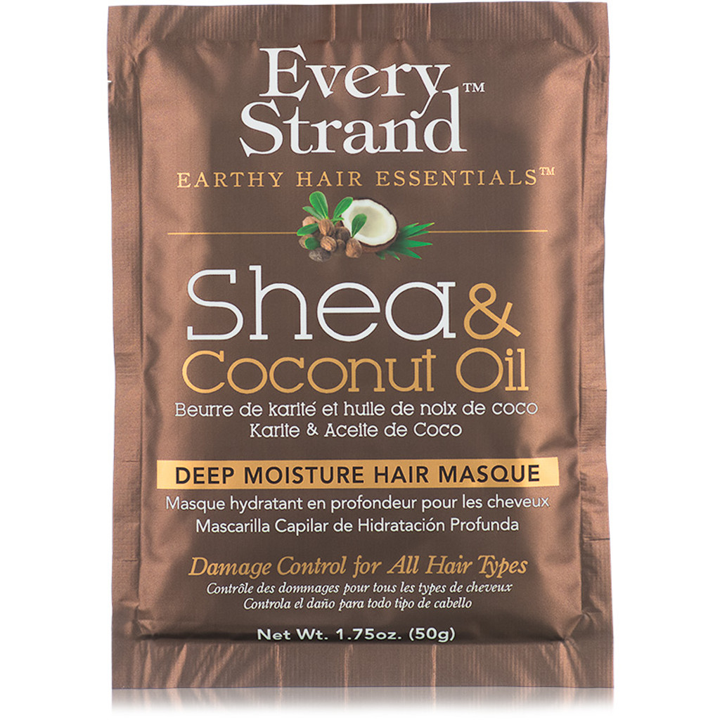 Review: Every Strand Shea & Coconut Oil Deep Moisture Hair Masque Packette (1.75 oz.)