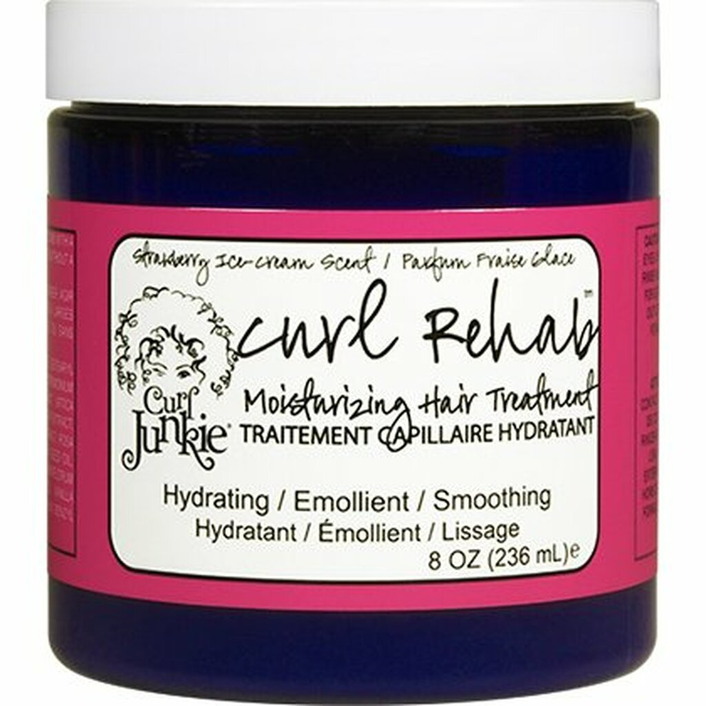 Curl Junkie Curl Rehab Moisturizing Hair Treatment - Strawberry Ice Cream (8 oz.)