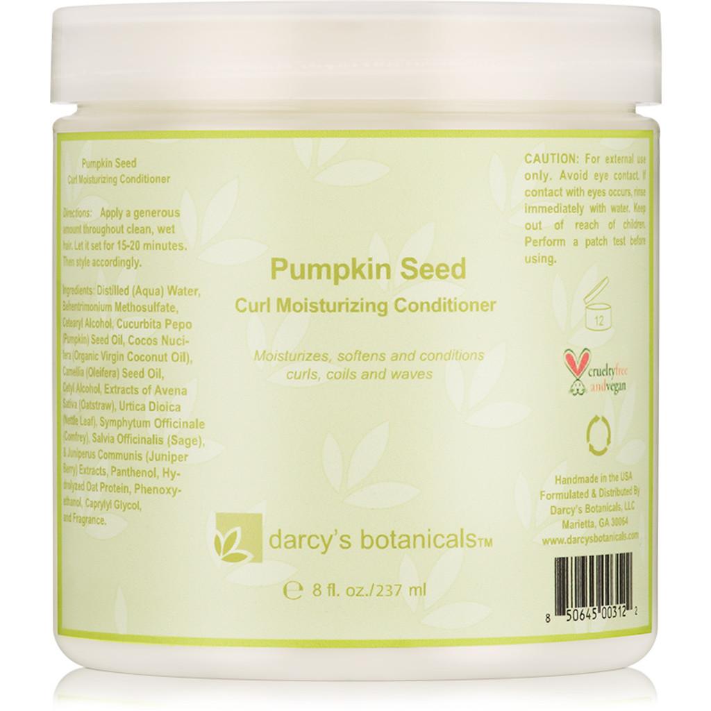 Review: Darcy's Botanicals Pumpkin Seed Moisturizing Conditioner (8 oz.)