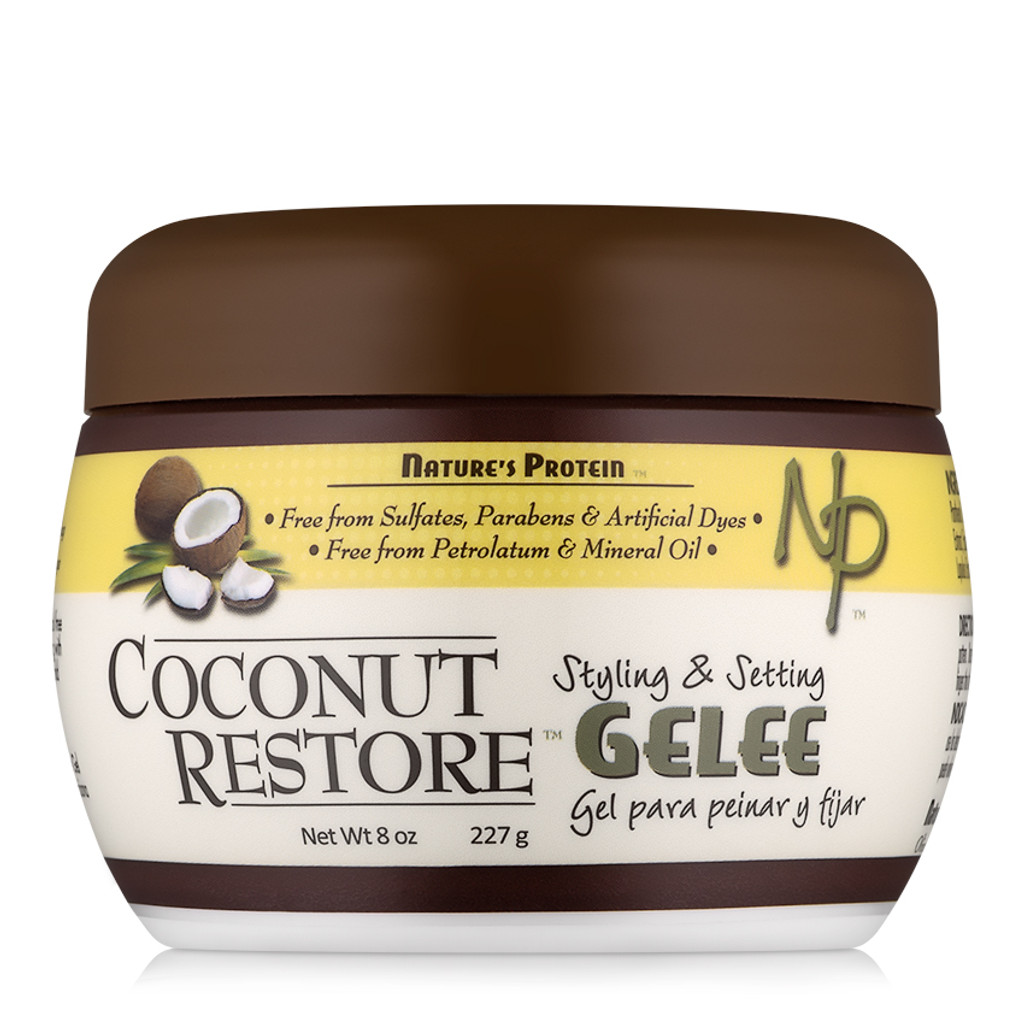 Coconut Restore Styling & Setting Gelee (8 oz.)