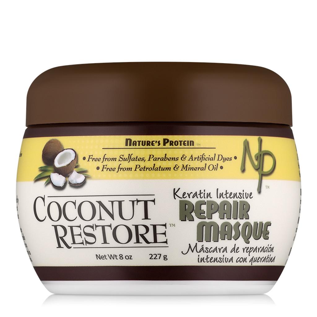 Coconut Restore Keratin Intensive Repair Masque (8 oz.)