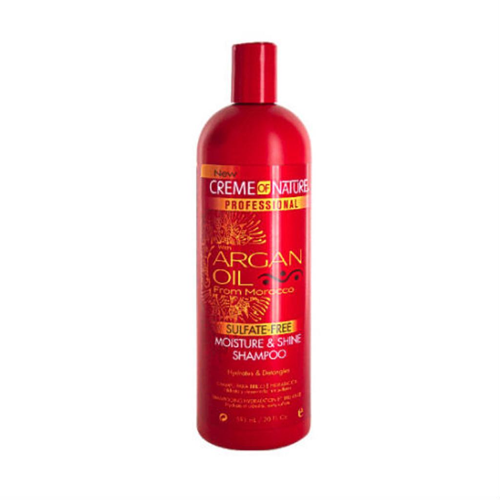 Creme of Nature Argan Oil Sulfate-Free Moisture & Shine Shampoo (20 oz.)