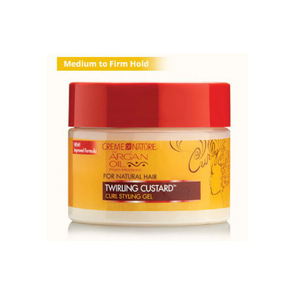 Creme of Nature Argan Oil Twirling Custard (11.5 oz.)
