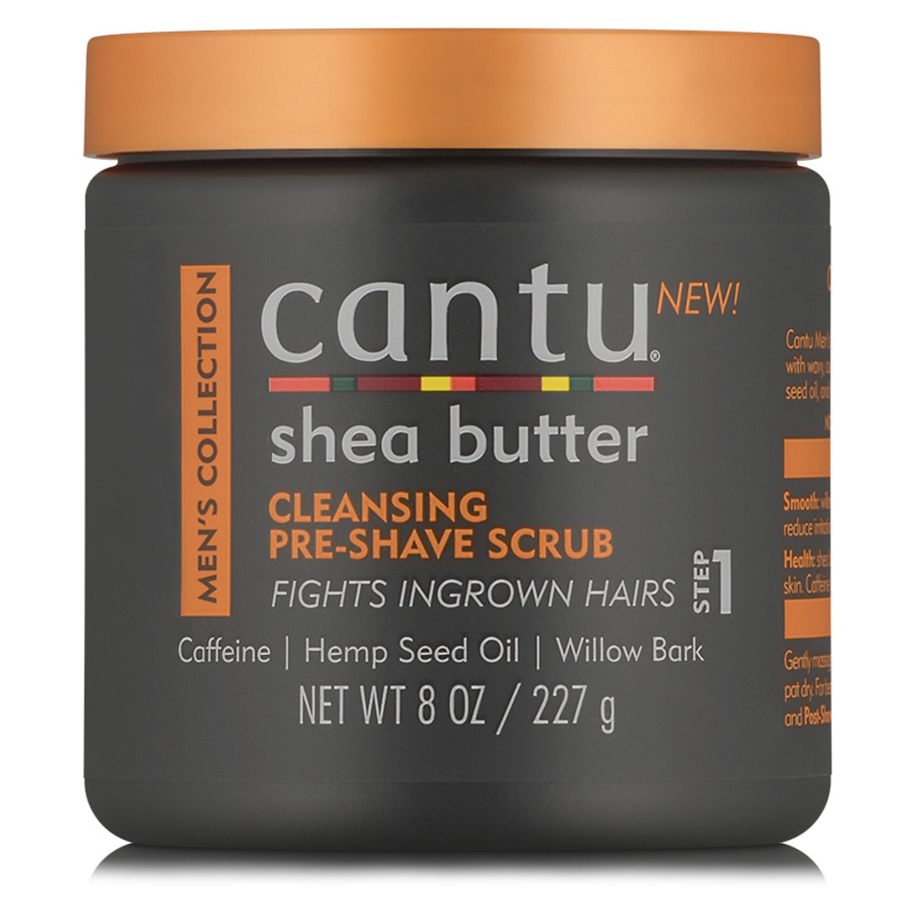 Cantu Men Cleansing Pre-Shave Scrub (8 oz.)