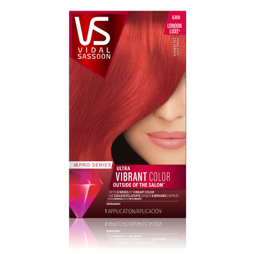 Review Vidal Sassoon Pro Series Permanent Hair Color London Luxe