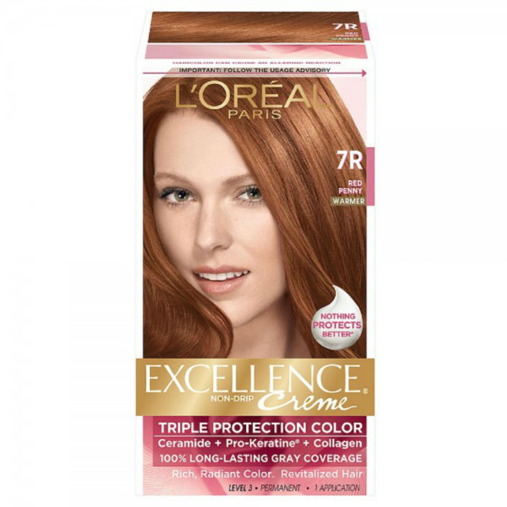 Review Loreal Paris Excellence Creme Haircolor Red Penny 7r