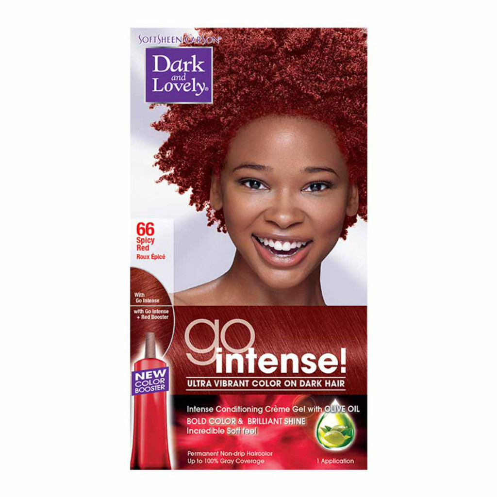 Review Dark And Lovely Go Intense Hair Color Spicy Red