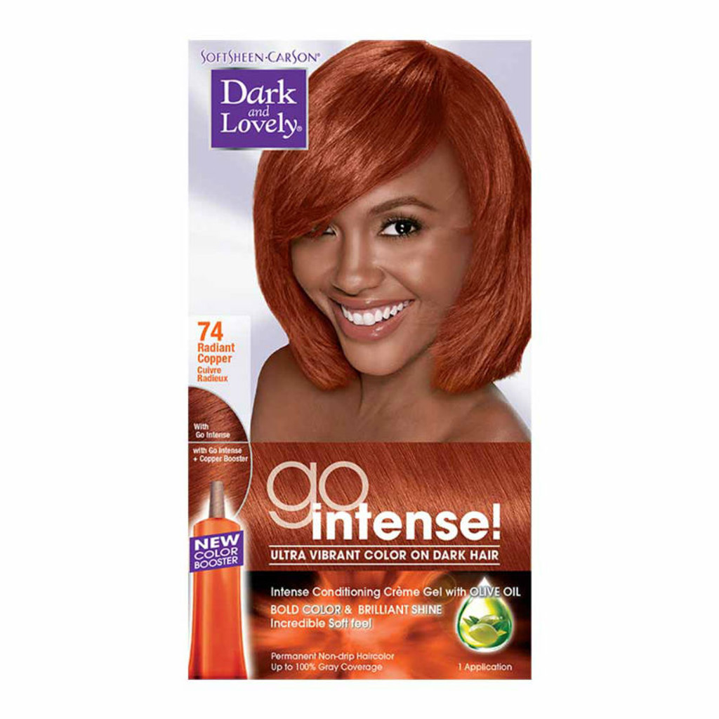 Review Dark And Lovely Go Intense Hair Color Radiant Copper