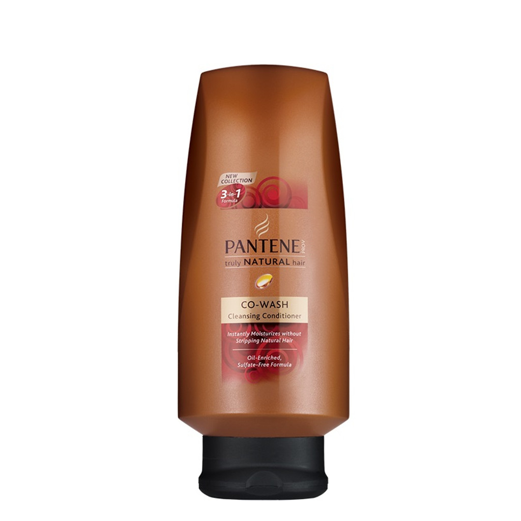 Review Pantene Pro V Truly Natural Co Wash Cleansing Conditioner