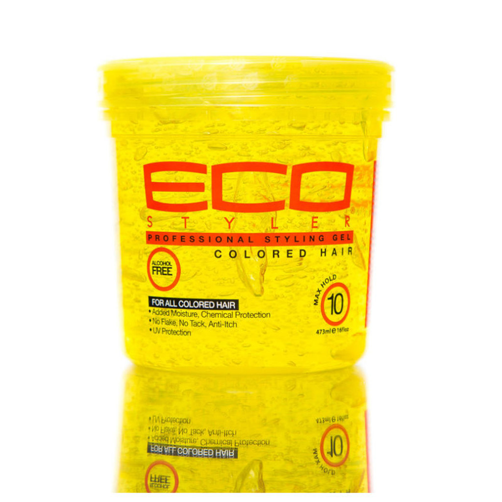 Ecoco Eco Styler Colored Hair Styling Gel 16 Oz Naturallycurly