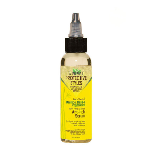 Taliah Waajid Protective Styles Ditch The Itch Bamboo, Basil And Peppermint Anti Itch Serum (2 oz.)