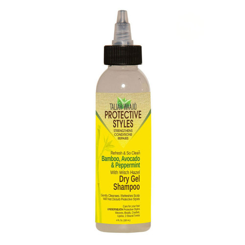 Taliah Waajid Protective Styles Refresh And So Clean Bamboo, Avocado And Peppermint Dry Gel Shampoo (4 oz.)