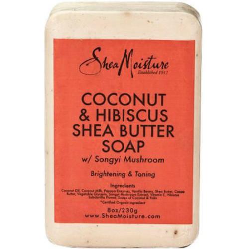 Shea Moisture Coconut & Hibiscus Shea Butter Soap Bar (8 oz.)