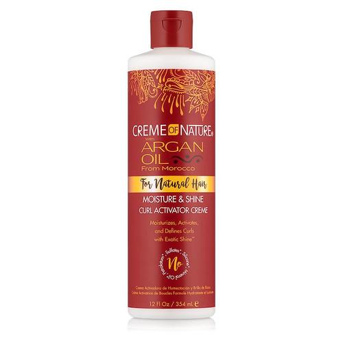 Creme of Nature Argan Oil Moisture & Shine Curl Activator Creme (12 oz.)