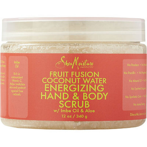 SheaMoistue Fruit Fusion Coconut Water Energizing Hand & Body Scrub (12 oz.)
