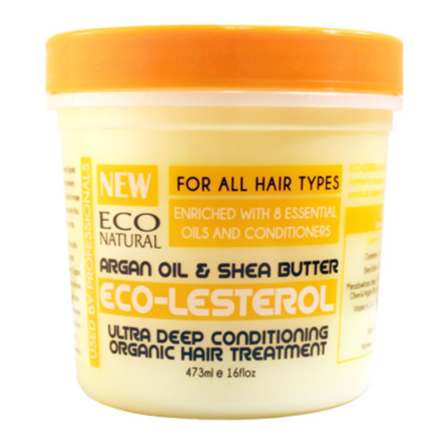 Review: Ecoco Eco-Lesterol Argan Oil & Shea Butter Ultra Deep Conditioning Organic Hair Treatment (16 oz.)