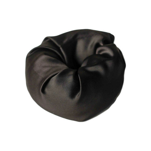 Loza Tam Black Satin-Lined Hair Bun