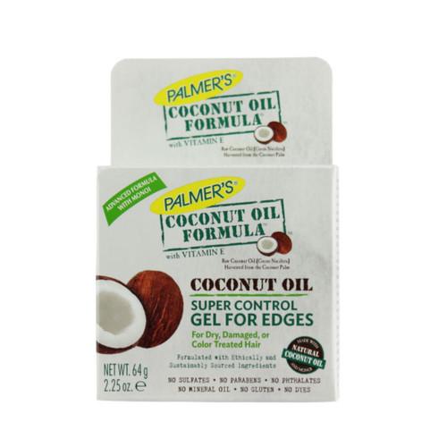 Palmer's Coconut Oil Formula Coconut Oil Super Control Gel for Edges (2.25 oz.)