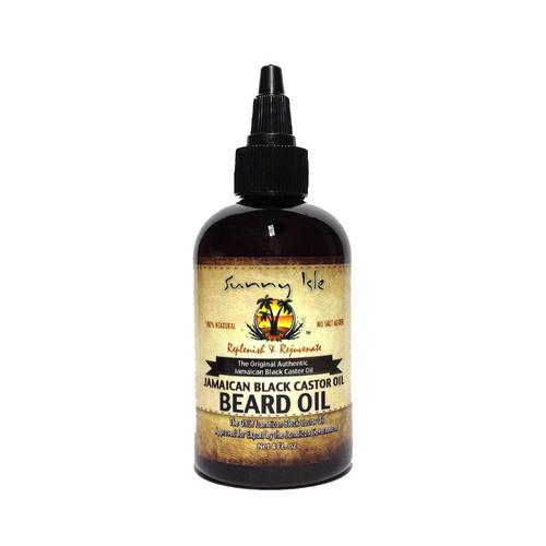 Sunny Isle Jamaican Black Castor Oil Beard Oil (2 oz.)