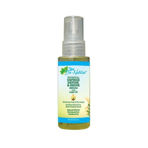 You Be-Natural Botanical Defrizz Define & Shine Serum (2 oz.)