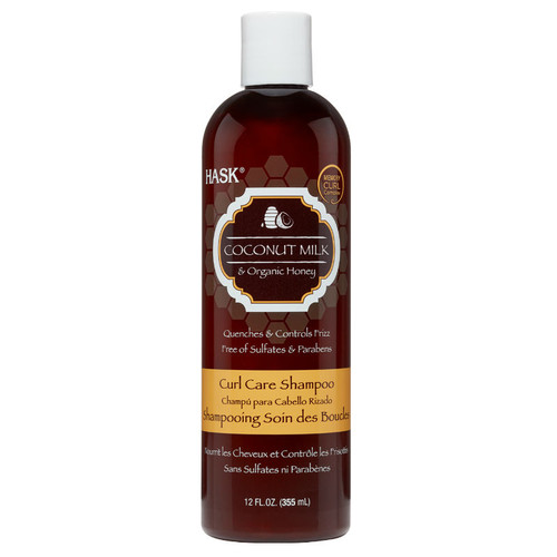 HASK Coconut Milk & Organic Honey Curl Care Shampoo (12 oz.)