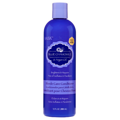 HASK Blue Chamomile & Argan Oil Blonde Care Conditioner (12 oz.)