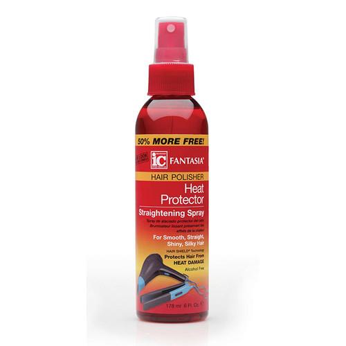 Fantasia IC Hair Polisher: Heat Protector Straightening Spray (6 oz.)