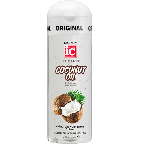 Fantasia IC Hair Polisher: Coconut Oil (6 oz.)