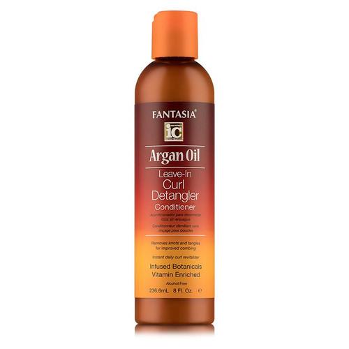 Fantasia IC Argan Oil Leave-In Curl Detangler Conditioner (8 oz.)