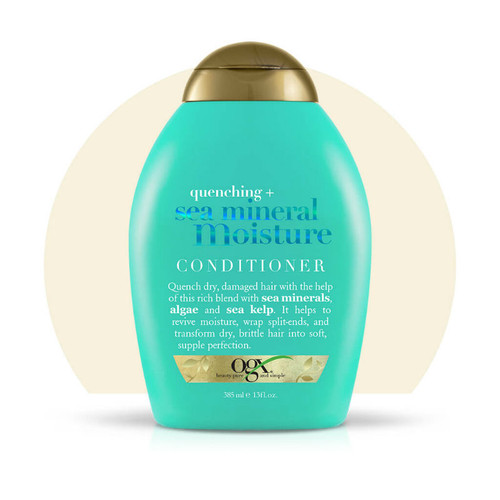 OGX Quenching Sea Mineral Moisture Conditioner (13 oz.)