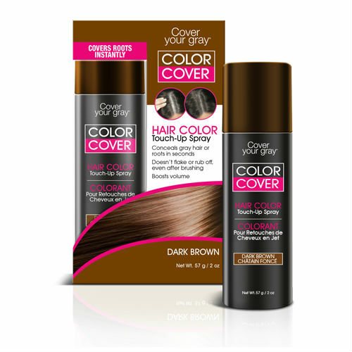 Cover Your Gray Color Cover Spray Dark Brown (2 oz.)
