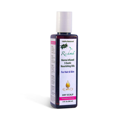 Reshma Beauty Henna Oil Treatment for Thinning Hair (3 oz.)