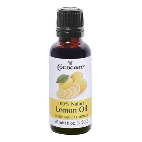 Cococare 100% Natural Lemon Oil (1 oz.)