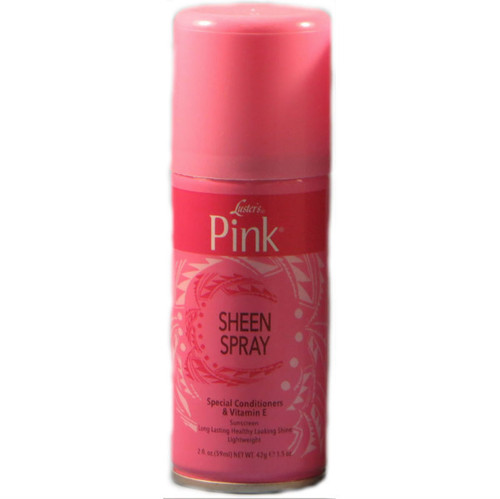 Review: Luster's Pink Sheen Spray (2 oz.)