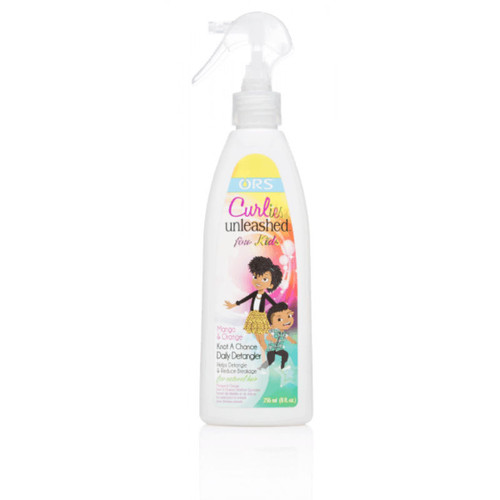 Curlies Unleashed for Kids Mango & Orange Knot A Chance Daily Detangler (8 oz.)