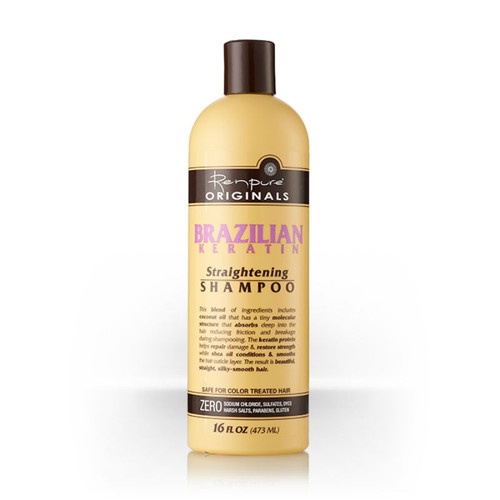 Renpure Originals Brazilian Keratin Straightening Shampoo (16 oz.)