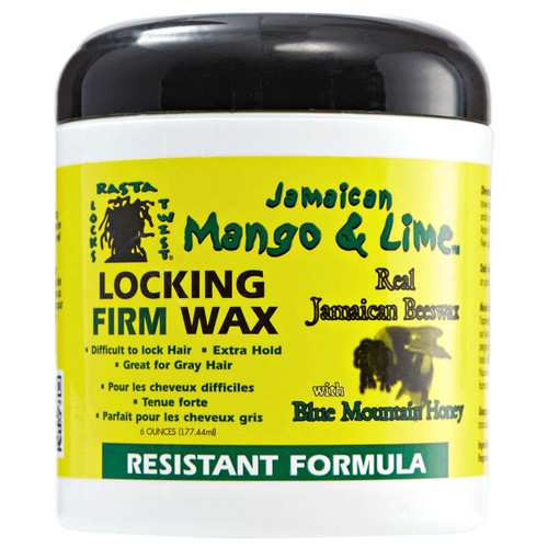 Jamaican Mango & Lime Locking Firm Wax - Resistant Formula (6 oz.)