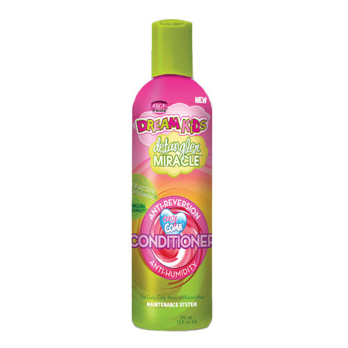 African Pride Dream Kids Detangler Miracle Anti-Reversion Anti-Humidity Conditioner (12 oz.)