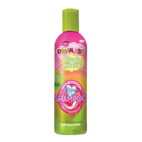 African Pride Dream Kids Detangler Miracle Anti-Reversion Anti-Humidity Shampoo (12 oz.)