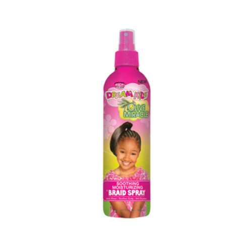 African Pride Dream Kids Olive Miracle Soothing Moisturizing Braid Spray (12 oz.)