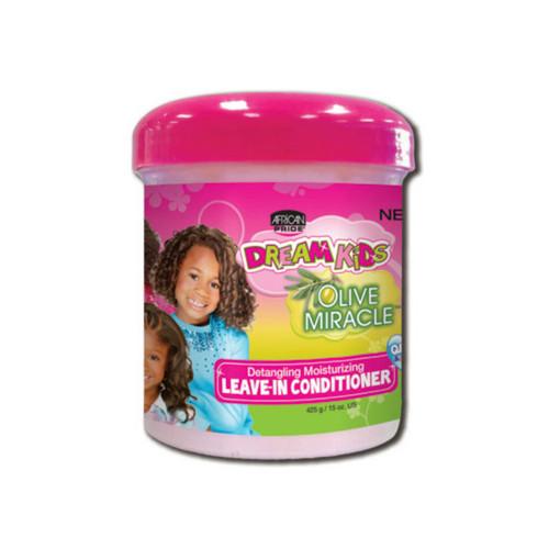 African Pride Dream Kids Olive Detangling Moisturizing Leave-In Conditioner (15 oz.)
